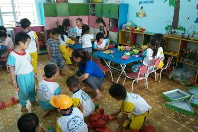 Các hoạt động giáo dục trong ngày của trẻ